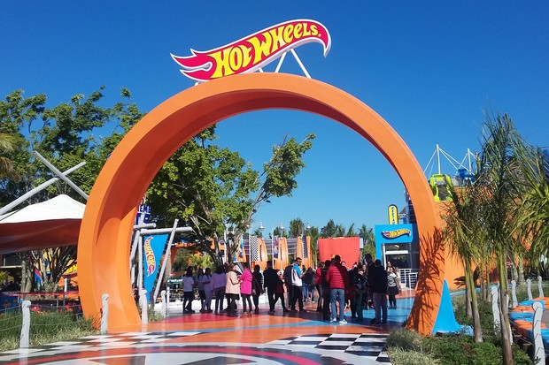 Hot Wheels inaugura área exclusiva no Beto Carrero World (Foto: Maria Clara Dias)