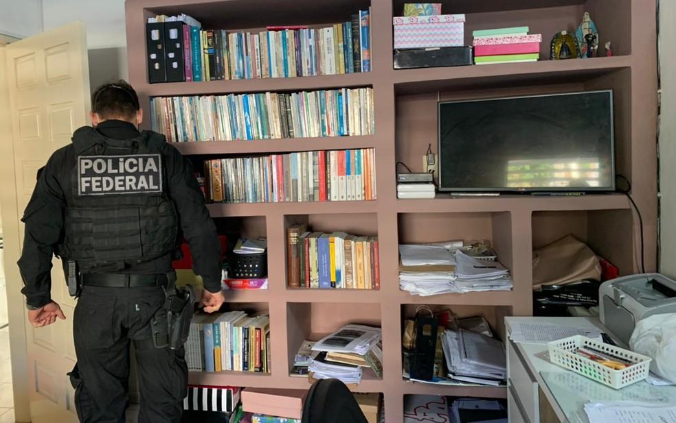 Ao todo, nove mandados de busca e apreensão foram expedidos — Foto: Divulgação/Polícia Federal