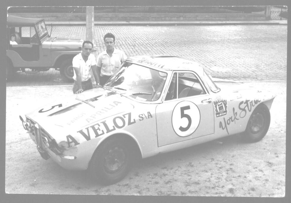 """Mario Olivetti correu no carro """"Protótipo Tanto Faz"""" em 1961 — Foto: Arquivo pessoal"""