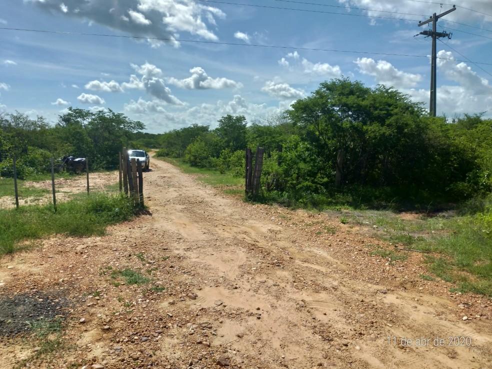 Crime aconteceu próximo à fazenda que Netinho havia comprado recentemente  — Foto: Divulgação
