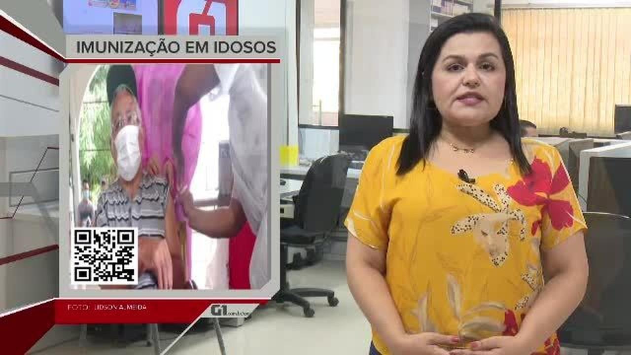 G1 em 1 Minuto - AC: Rio Branco começa a vacinar idosos e trabalhadores do Lar Vicentino