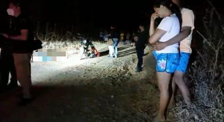 Pai e filho são mortos a tiros quando retornavam do trabalho em Guaiúba