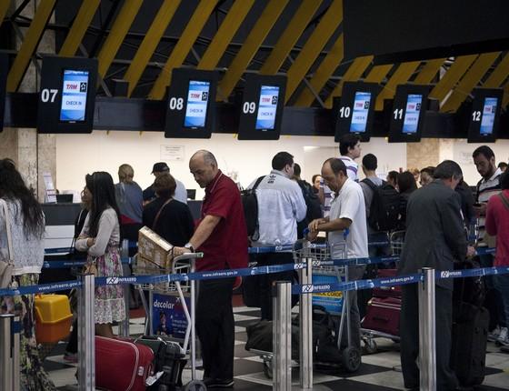 Aeroporto de Congonhas, em São Paulo (Foto: Marcelo Camargo/ABr/Agência Brasil)