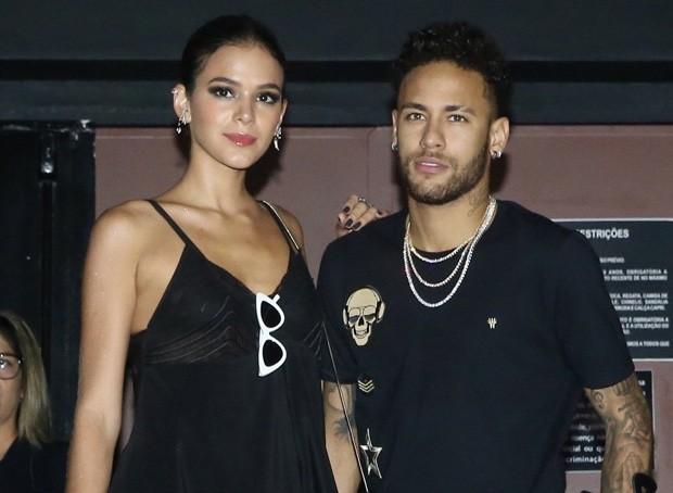 Bruna Marquezine e Neymar (Foto: Manuela Scarpa e Marcos Ribas/Brazil News)