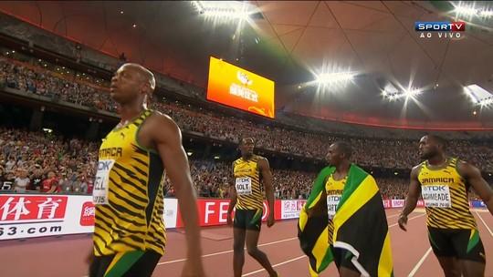 Com Bolt, Jamaica conquista o ouro no 4x100m; EUA são desclassificados
