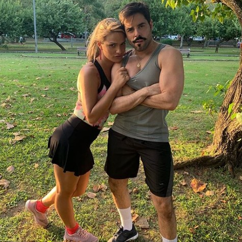 Glamour Garcia e Pedro Carvalho (Foto: Reprodução/ Instagram)