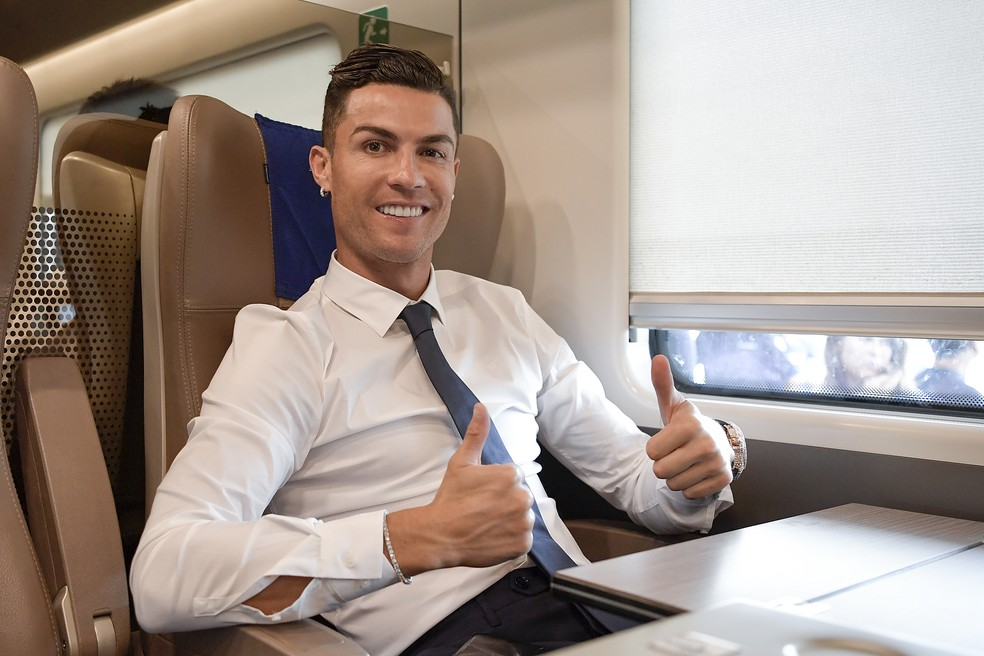 Cristiano Ronaldo deixa a Juventus e vai para o Manchester United — Foto: Getty Images