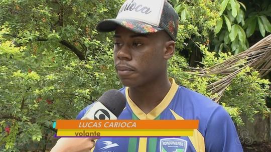Ex-Rondoniense, volante Lucas Carioca realiza teste no sub-20 do Esporte Clube Bahia