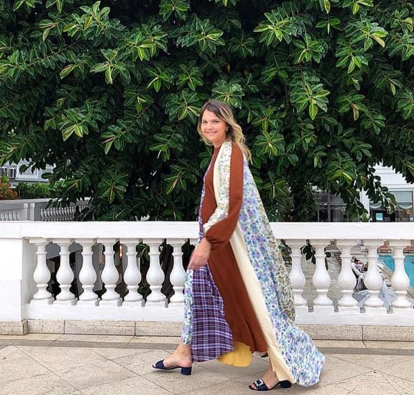 Vívian Sotocórno com vestido Walk of Shame (Foto: Arquivo pessoal)
