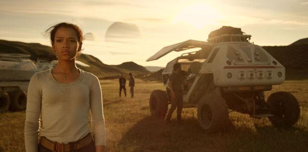 Taylor Russell, a Judy Robinson de Perdidos no Espaço (Foto: Divulgação/Netflix)