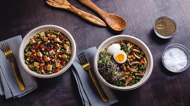 Os pratos preparados no estabelecimento possuem opções vegetarianas, veganas e sem glúten. (Foto: Divulgação)