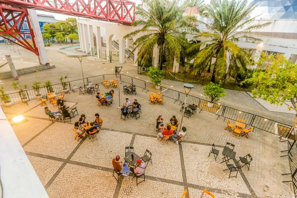 Horário de funcionamento de restaurantes poderá ser ampliado para até 23h no Ceará a partir de segund-feira. — Foto: Gandaia Club/Reprodução