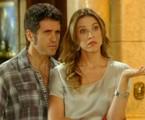 Eriberto Leão e Luana Piovani em cena de 'Guerra dos sexos' | Reprodução