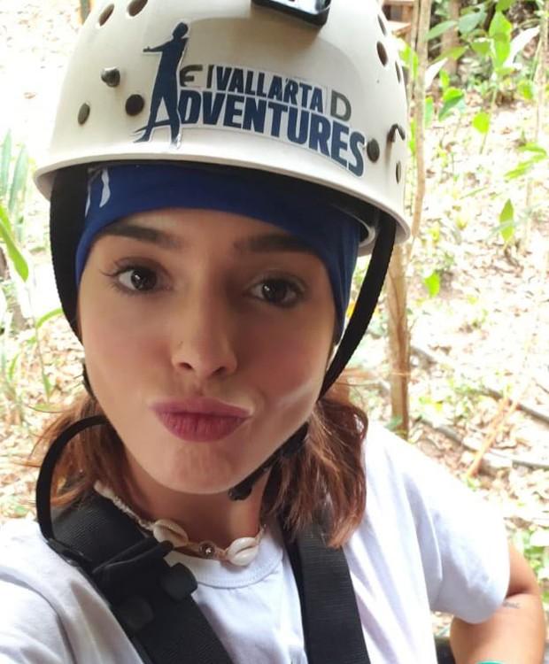 Giovanna Lancellotti curte aventuras em viagem (Foto: Divulgação)