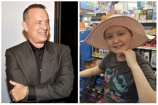 Tom Hanks e Aspen (Foto: Getty Images / Facebook)