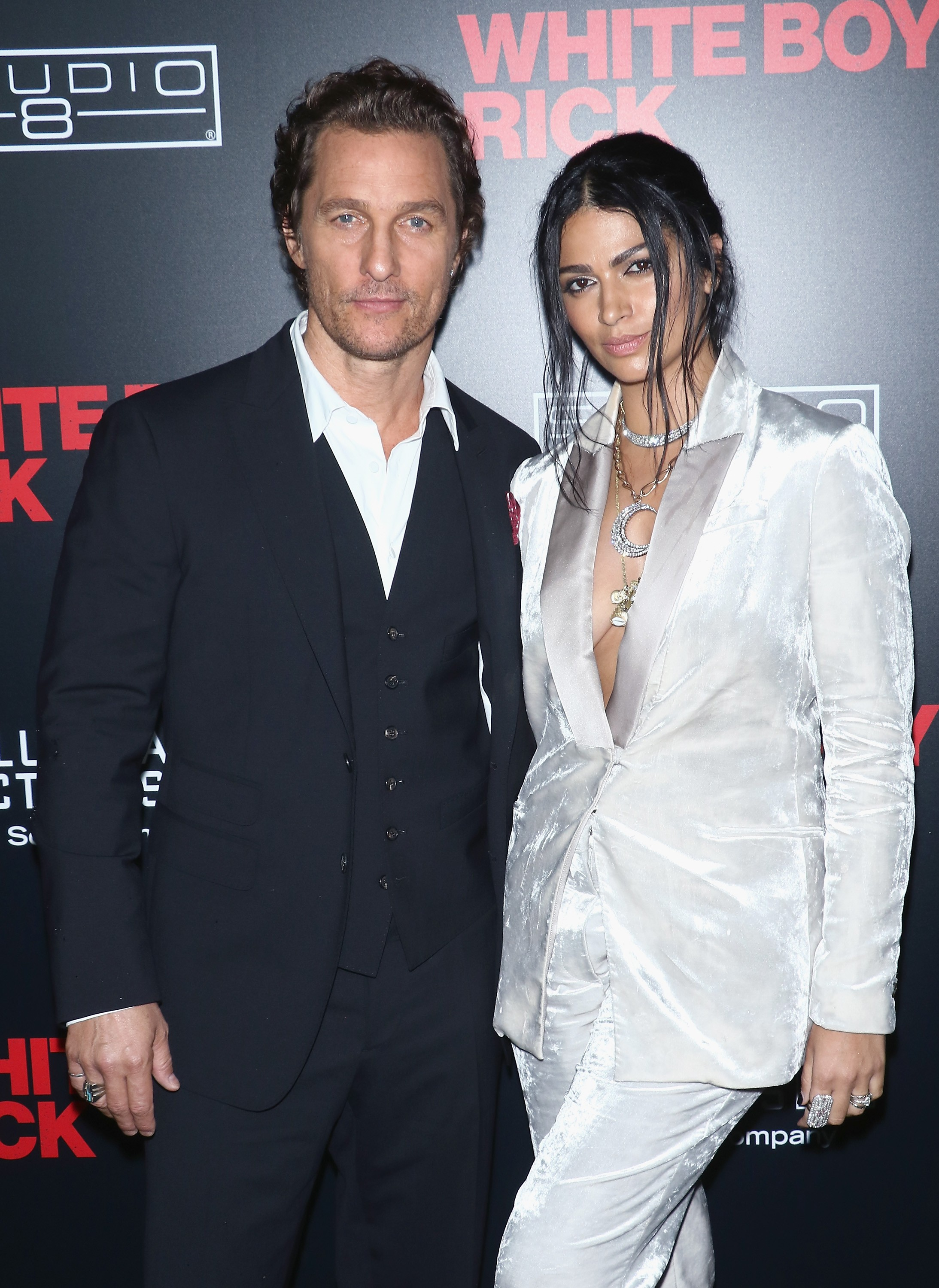 Camila Alves com o marido Matthew McConaughey (Foto: Getty Images)