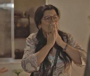 Regina Casé é Lurdes em 'Amor de mãe'   Reprodução