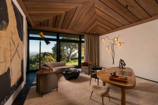 Ellen DeGeneres coloca mansão com pousada à venda por R$ 223 milhões (Foto: Divulgação)