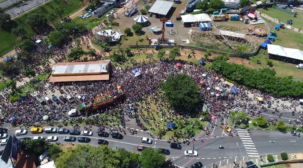 City Banda reuniu 60 mil em Campinas, diz Prefeitura (Foto: Reprodução / EPTV)