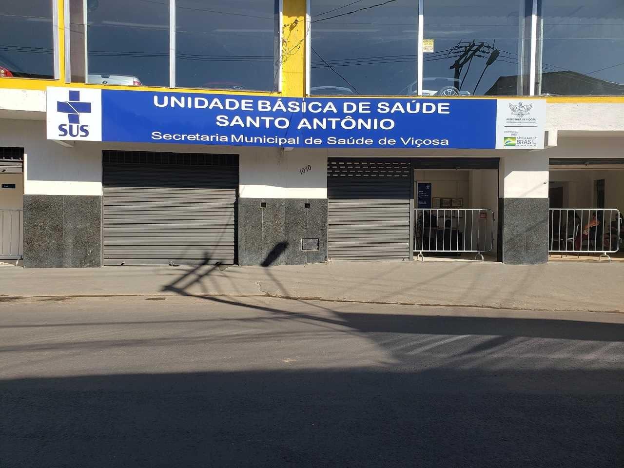 Viçosa unifica Unidades Básicas de Saúde do Bairro Santo Antônio em novo prédio