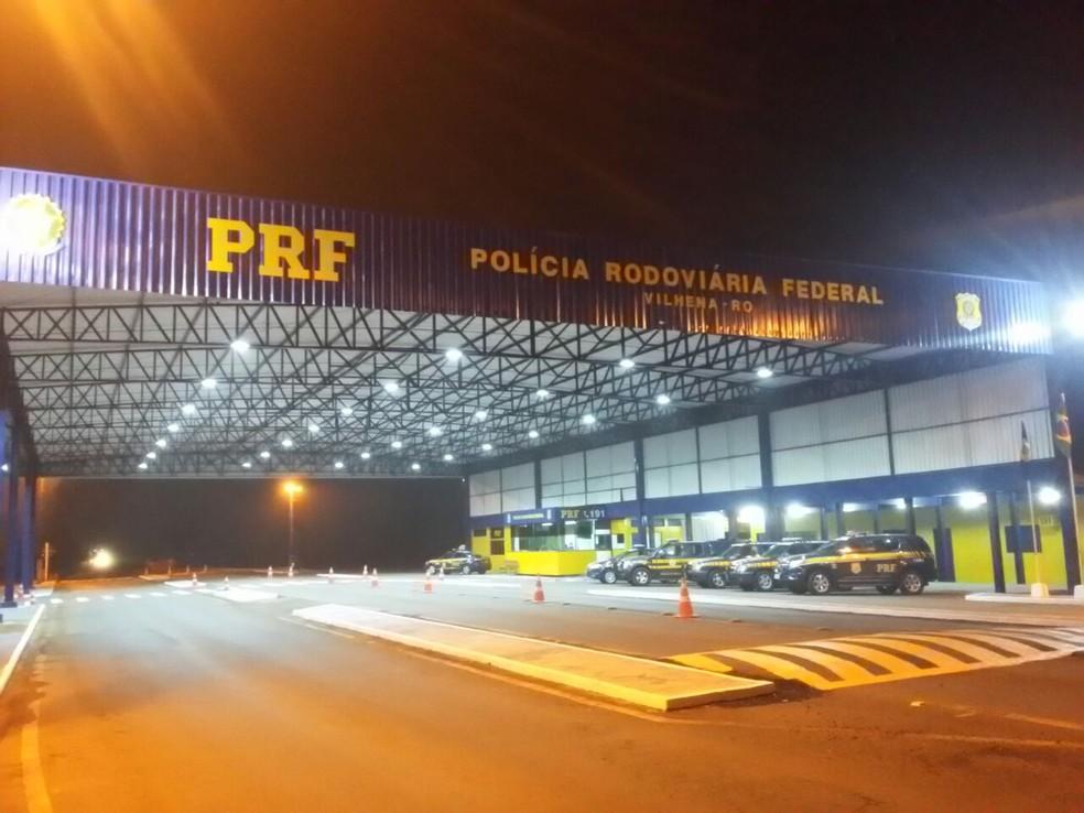 PRF diz que todas as rodovias estão abertas em Rondônia — Foto: PRF/Divulgação
