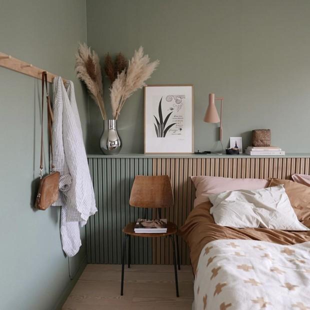 Cabeceiras: 15 ideias cheias de personalidade para o seu quarto (Foto: Casa Vogue/Reprodução)
