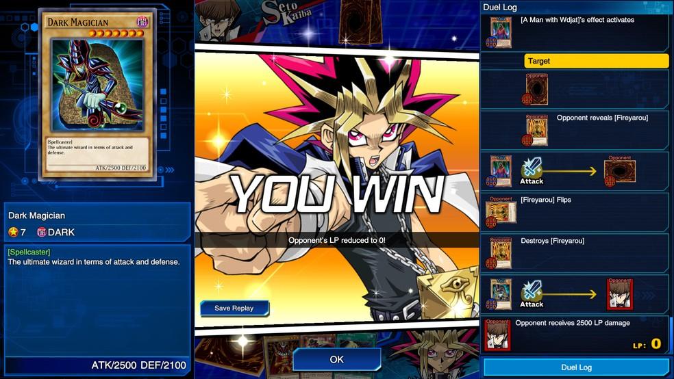 Yu-Gi-Oh! Duel Links possui elenco de diversas temporadas do anime — Foto: Divulgação/Konami