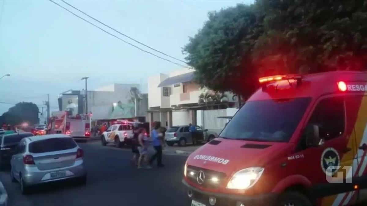 Incêndio atinge depósito no Centro de Boa Vista