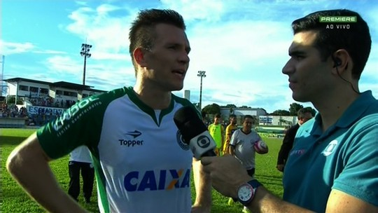 Brock lamenta erros após derrota de goleada do Goiás para o Iporá