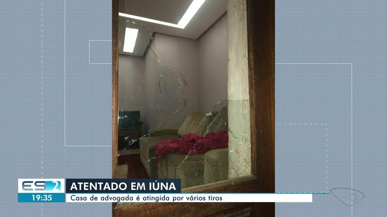 Bandidos atiram em casa de advogada no Sul do Estado