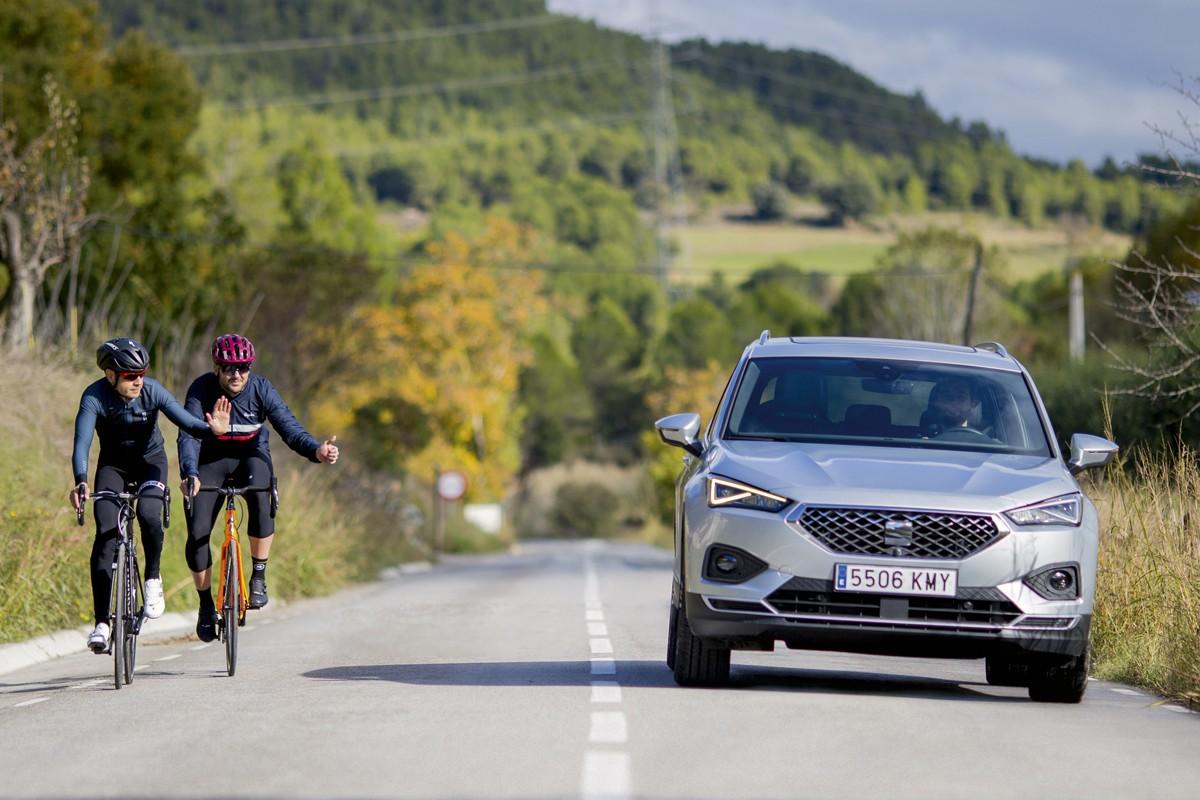 O Tarraco, da SEAT, evita colisões com ciclistas (Foto: Divulgação)