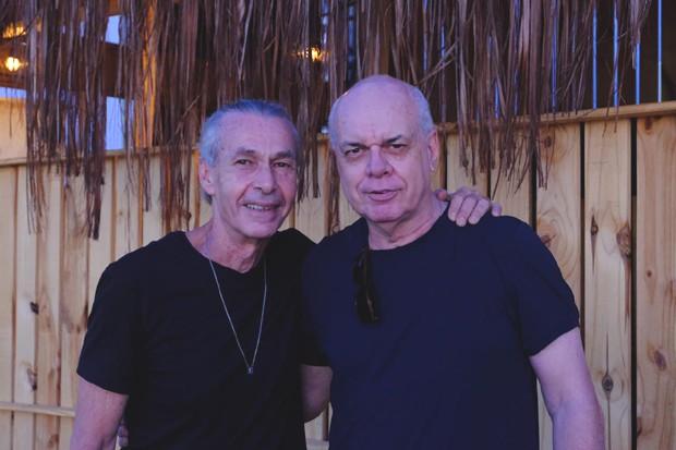 Ignácio Coqueiro e Roger Henri (Foto: Renato Wrobel/ QUEM)