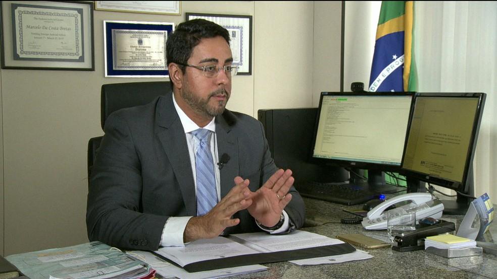 O juiz Marcelo Bretas, responsável pela Lava Jato no Rio (Foto: GloboNews/Reprodução)