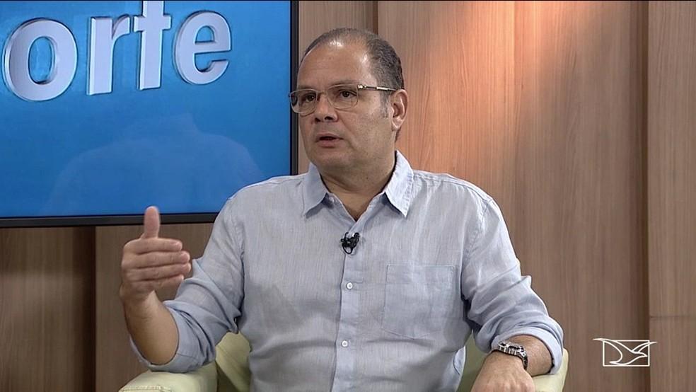 Rogério Cafeteira promete reforma completa no Castelinho — Foto: Reprodução / TV Mirante