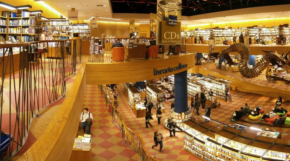 livraria; cultura; são paulo; livros; varejo; lojas; (Foto: Wikimedia Commons)