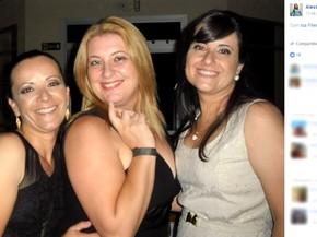 Alessandra, Liliane e a ex-mulher do atirador; todas morreram na chacina em Campinas (Foto: Reprodução / Facebook)