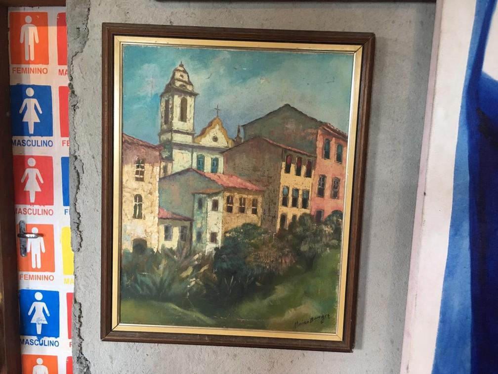Acervo da Laje fica em São João do Cabrito, em Salvador — Foto: João Souza/G1