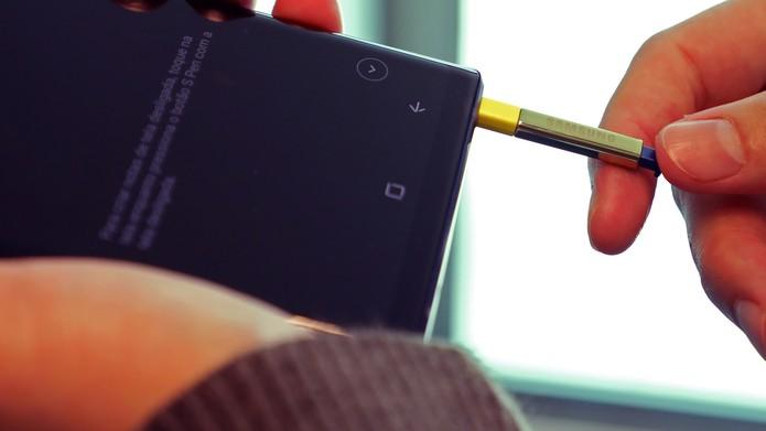 Samsung Galaxy Note 9 [sem marca] (Foto: Bruno De Blasi/TechTudo)