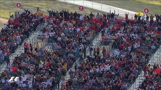 Briga direta entre Hamilton e Vettel marcou primeira corrida de Fórmula 1 em Austin