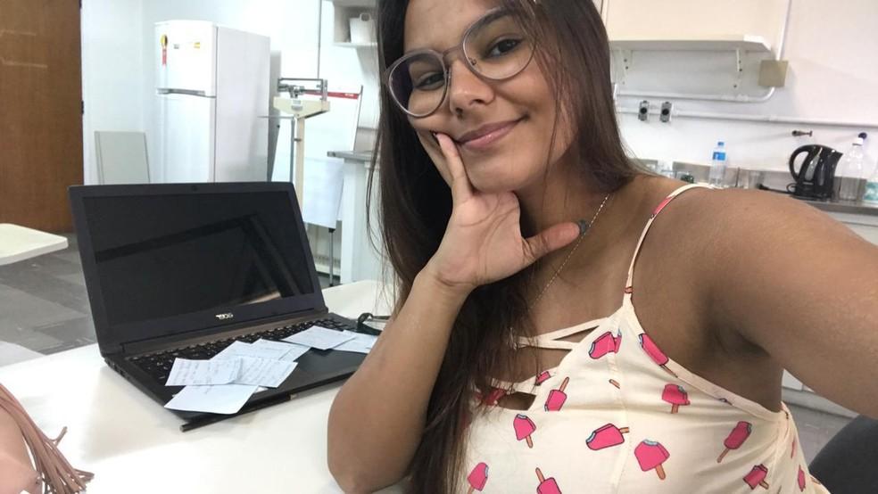 Iara perdeu mais de uma ano de pesquisa do mestrado — Foto: Arquivo pessoal/Iara dos Santos Almeida