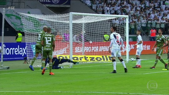 Vasco perde para o time reserva do Palmeiras pelo Brasileirão