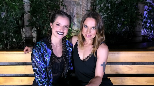Fã das Spice Girls, Agatha Moreira entrevista Melanie C; veja vídeo