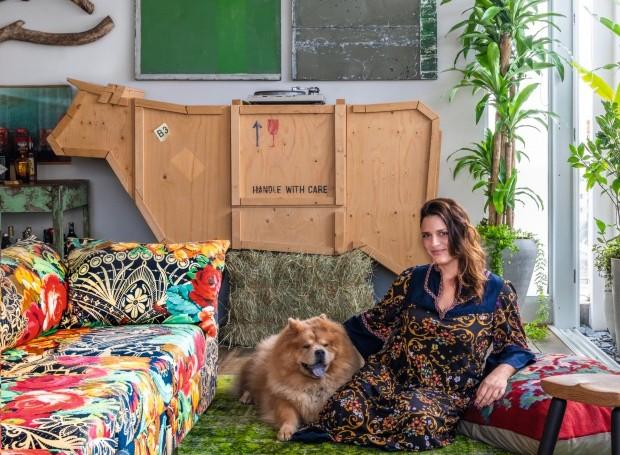 Apartamento Tatiana Leite - Entre Garimpos (Foto: Victor Affaro / Editora Globo)
