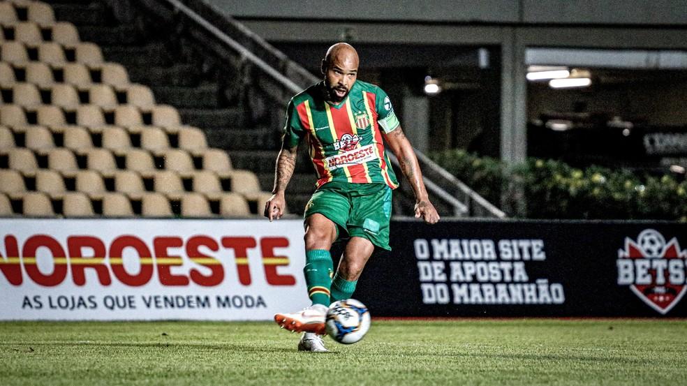 Terceiro acesso no Sampaio foi como capitão — Foto: Lucas Almeida / L17 Comunicação