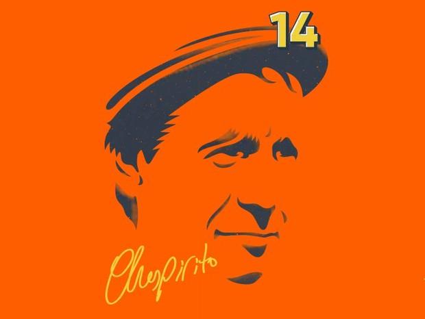 Chespirito, o homenageado da vez pela Nike e pelo América-MX (Foto: reprodução)