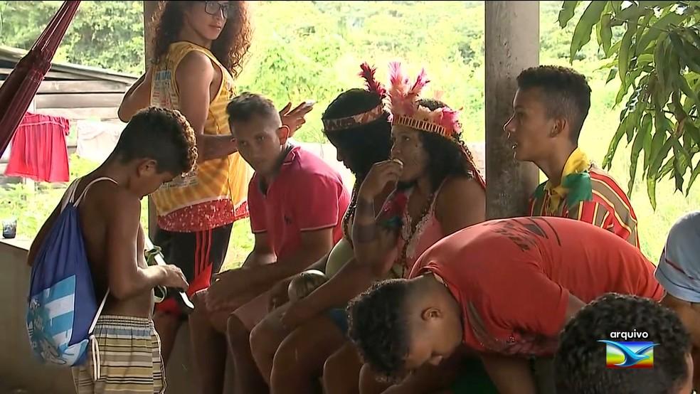 Índios e fazendeiros disputam terra na região de Viana, no Maranhão — Foto: Reprodução/TV Mirante
