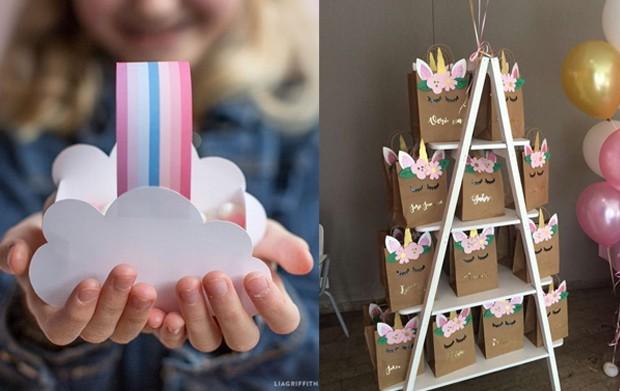 Crie sua própria lembrancinha e encha as sacolas de doces para os convidados levarem para casa (Foto: Pinterest/ Reprodução)