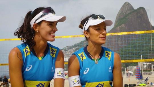 Vai começar! Principais duplas do Brasil começam disputa por vagas olímpicas no vôlei de praia