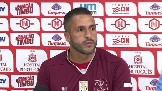 """De volta ao Náutico, Ronaldo Alves não comenta últimas saídas: """"Vou me resguardar"""""""