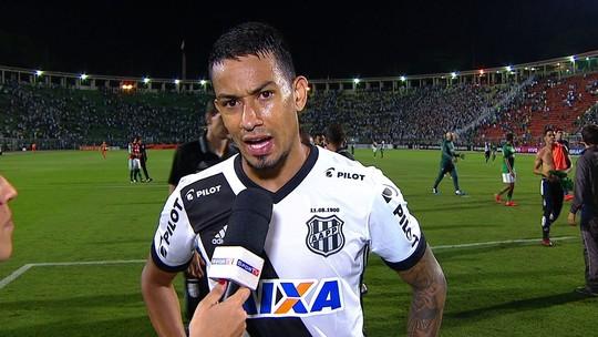 """Lucca se preocupa com situação da Ponte: """"Se não ganhar os dois em casa, complica"""""""
